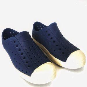 Native Jefferson Shoes Navy Boy/Girl Youth 2